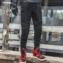 TNAC Topchi winter velvet warm motorcycle riding pants windproof fall wear-resistant motorcycle rally overalls