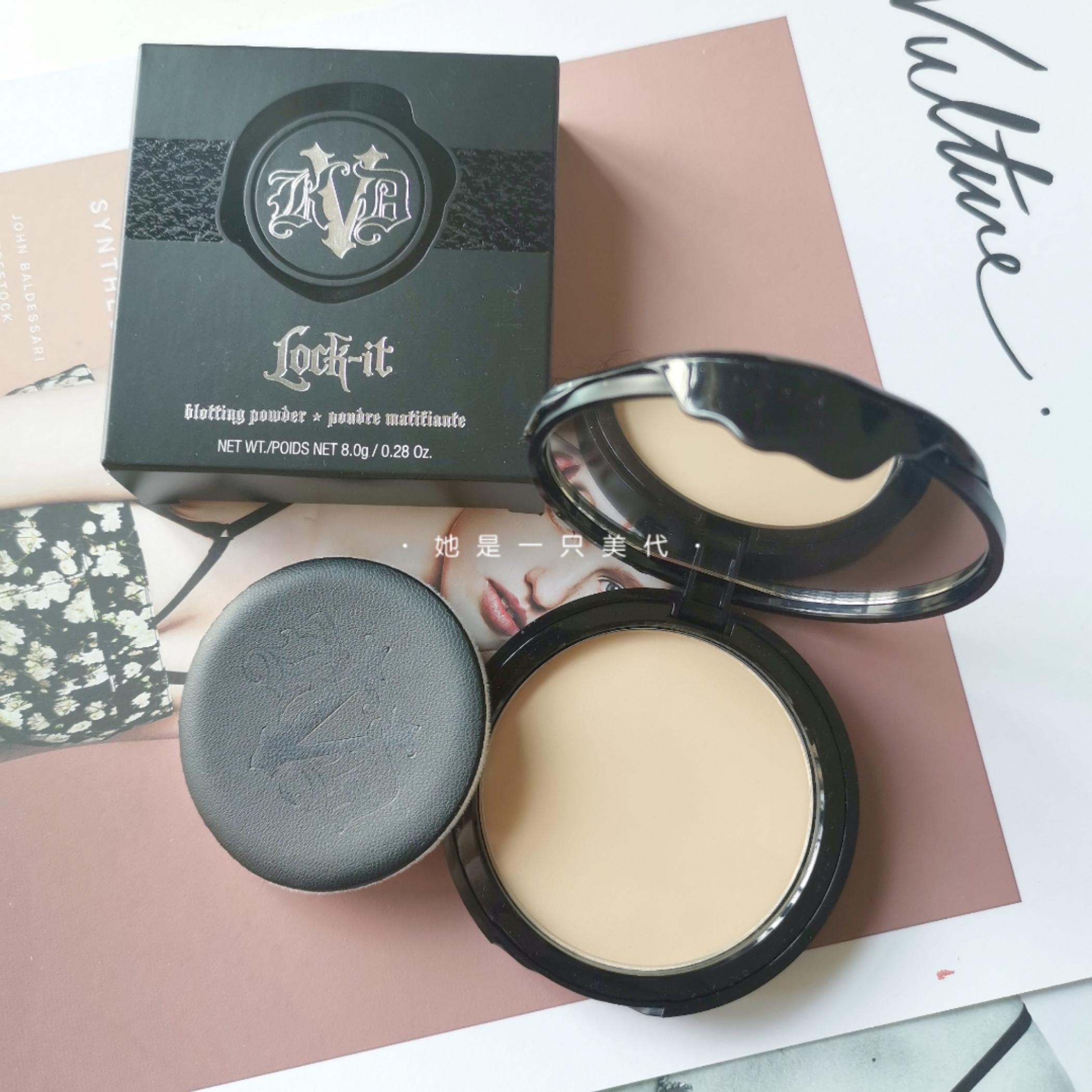 Stock American Kat Von D KVD matte control oil set makeup honey cake K sister recommended fair light