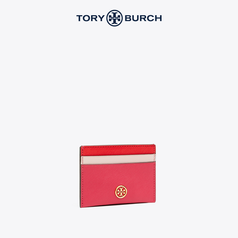 TORY BURCH TONGLI BAQI ROBINSON NUTHERN LEATHER CARD PACKAGE 60382