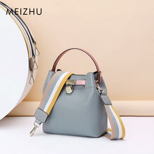 Mother-and-child bucket bag 2019 new hand-held inclined shoulder inner gallbladder bag small CK fashion ladies dermal leisure bags