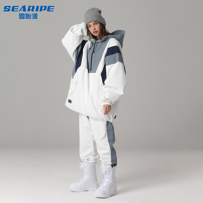 Xueyi sent 20 new snowboarding clothes mens Korean hip-hop tide brand waterproof warm breathable pants set