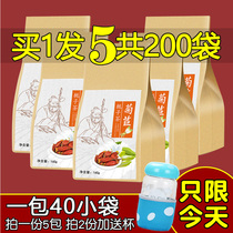 Chrysanthemum tea acid-lowering tea Gegen urine痠 high uric acid excretation tea sour tea lily mulberry leaf chrysanthemum tea