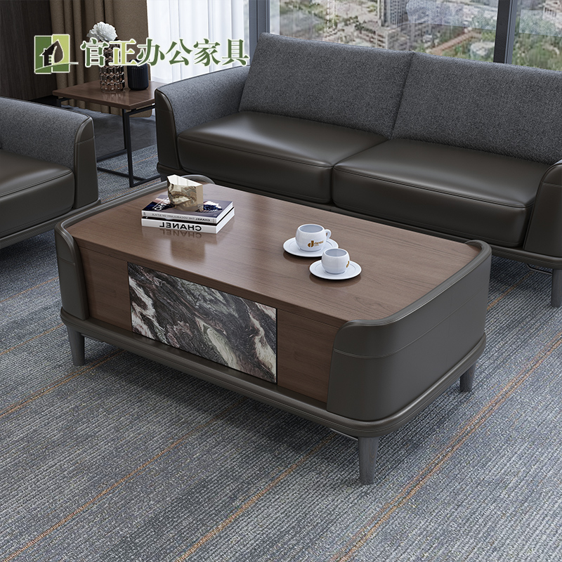 Nordic fillet coffee table simple modern coffee table living room home small household tea table light luxury storage function teapot