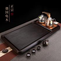 German bakelite tea tray set automatic one-piece tea table Household simple modern electric stove kettle Tea sea