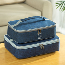 Japanese-style insulation when the box bag insulation bag thickened aluminum foil to work with a rice bag tote bag lunch box handbag as a bag