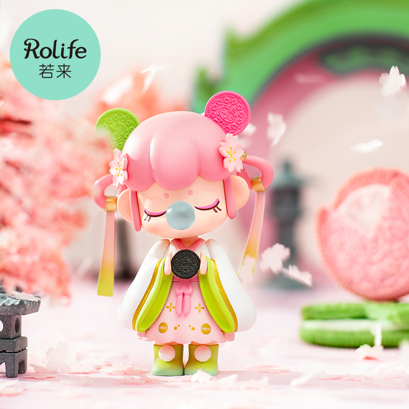 (Предпродажа)rolife if come to Nanci Oreo spring limited joint blind box gift box gift