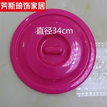 。 23 25 28 30 34 35 36 37 42cm Bucket lids of various colors are sold.