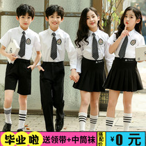Childrens chorus performance costume recitation performance costume kindergarten entrance Photo dress class uniforms primary and secondary school costumes