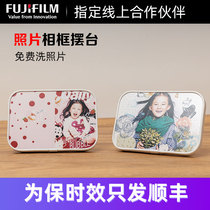Bedroom cabinet pose custom wash photo 6 inch seven inch 沖 plus photo frame creative decoration ins style Nordic decoration
