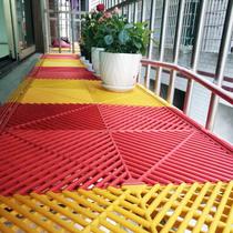 Пластиковая решетка пол противоугонная сетка подушка пластина накладка балкон цветочная рама забор подоконник Анти-падение противоугонная нижняя пластина окна