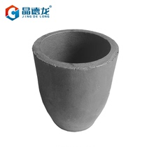 Gindirange clay graphite crucible resistant to high temperature small foundry household alchemy silver copper clay melt aluminum