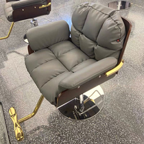 Luxury light luxury comfortable net red barber hair chair Hair salon special hair stool Barber barbershop lift chair