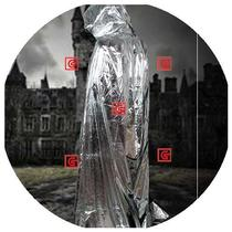 European imported generation of quantum stealth clothing transparent invisible invisible person magic prop net red cloak cape shaking sound.