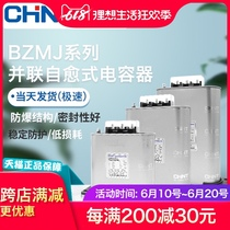 Chint capacitor BZMJ0.45 0.4 self-healing low voltage shunt capacitor 450V reactive power compensation BSMJS