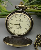 Pocket watch can be put photo Mechanical automatic women necklace Watch pendant Vintage accessories Mechanical double shell birthday gift trend