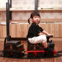 Grand Train Piste Jouet Super Long Petit Assis Enfants Intérieur 10 ans Center Commercial Électrique modèle Vapeur Chine
