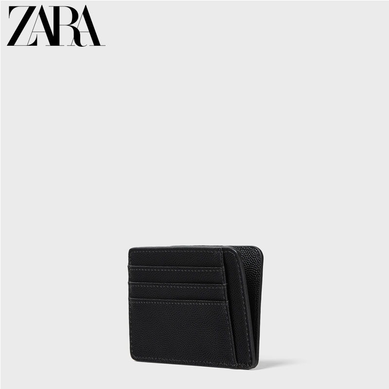 ZARA New Men's Bag Black Card Clip 16813005040