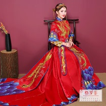 Grofico and the bride and Phoenix gown dress chinese wedding dresses 2018 autumn New Clothes