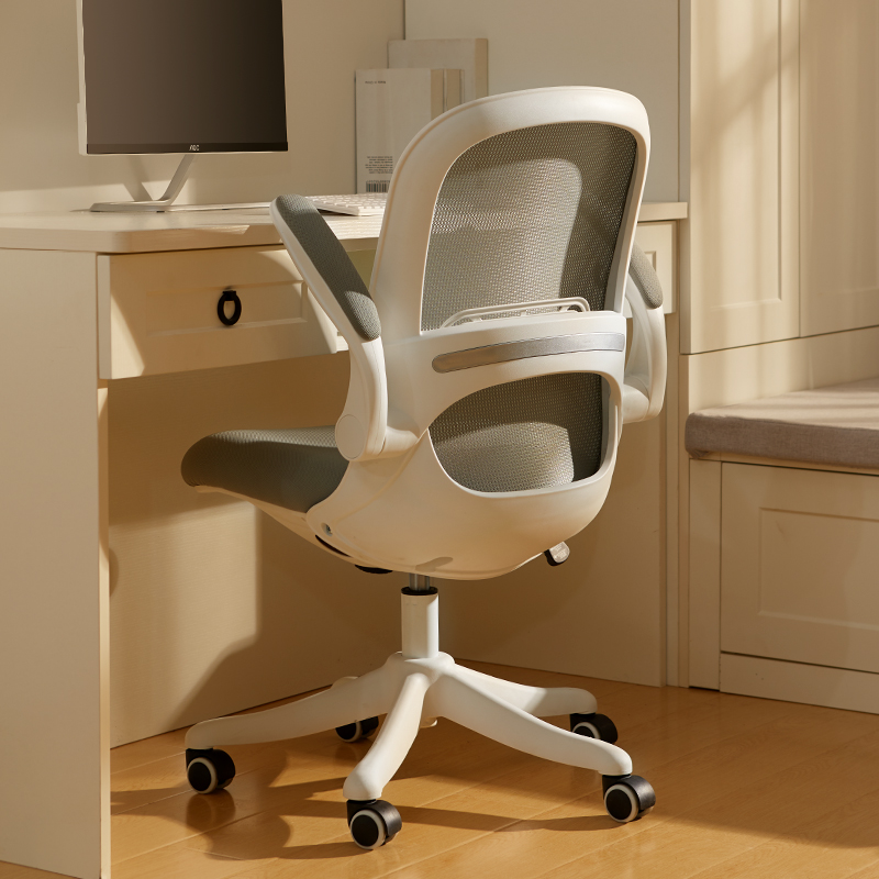 Aiison computer chair home study chair office chair back desk study ergonomic students writing turn chair
