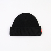 (Pre-sale) Qiu Minggu chil the same Japanese-style independent design couple homie color melon skin knitted wool hat