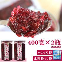 Yunnan rose sauce 800g edible rose sauce ice powder rose sugar commercial roasted honey rose flowers cinnamon