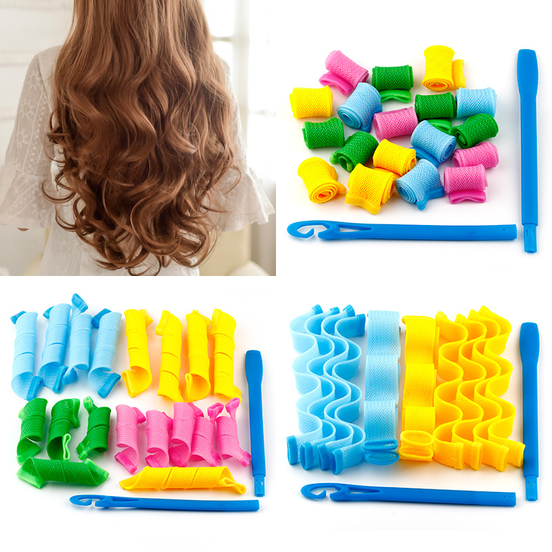 Long Hair in Short Hair, Watery Wave Curl, Large Curl, Inner Curl Bar, Curl Bar, Snail Curl Hair Tool