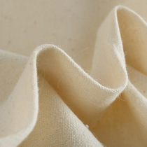 Pure cotton coarse white blank cloth tea mat warm curtain fabric applicable to blue batik printing dyeing plant dyeing