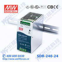 The new Taiwan Ming Wei PFC ultra-thin rail power SDR-240-24 240W 24V10A fake a penalty ten