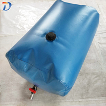 Water bag Large capacity software foldable water bag Outdoor vehicle thickened portable agricultural drought-resistant water storage bag Oil bag