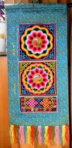 Turkish dish embroidery-Ruyi lotus