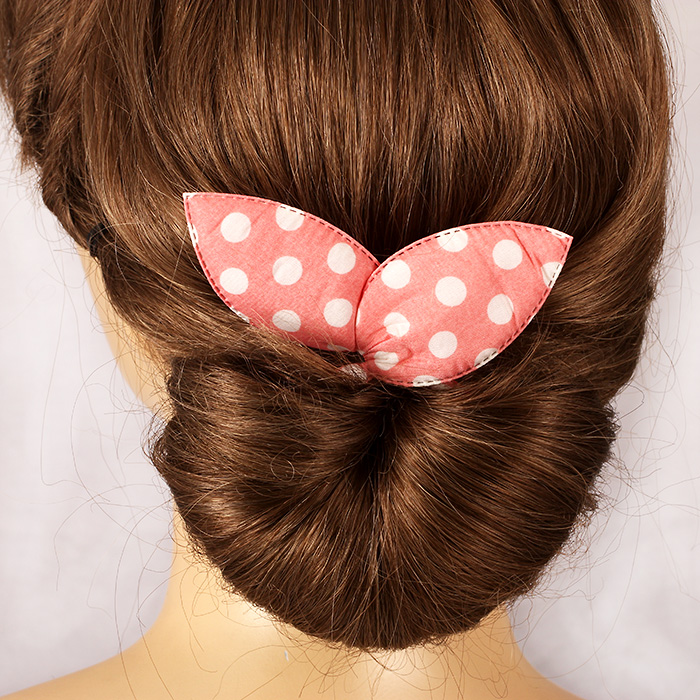 Korean hair accessories hair braided set bow floral hairdressing hair sticks meatballs head flower head hair accessories