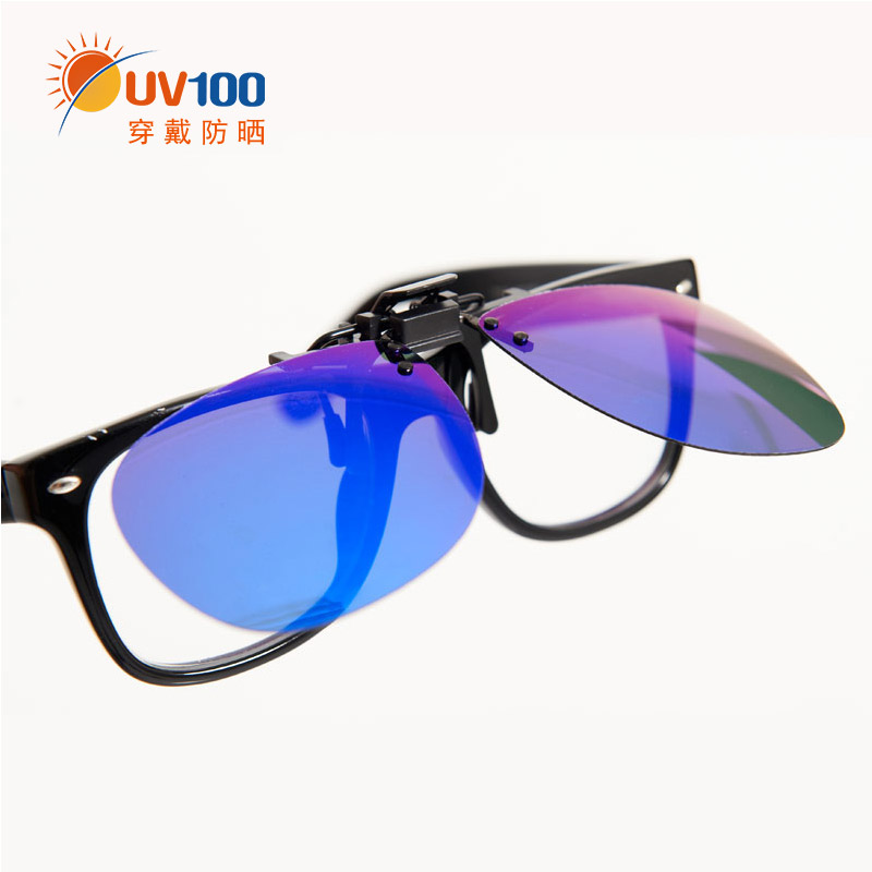 Taiwan UV100 sunshade anti-ultraviolet fashion jacket Sunglasses sunscreen Polarized Sunglasses 10174