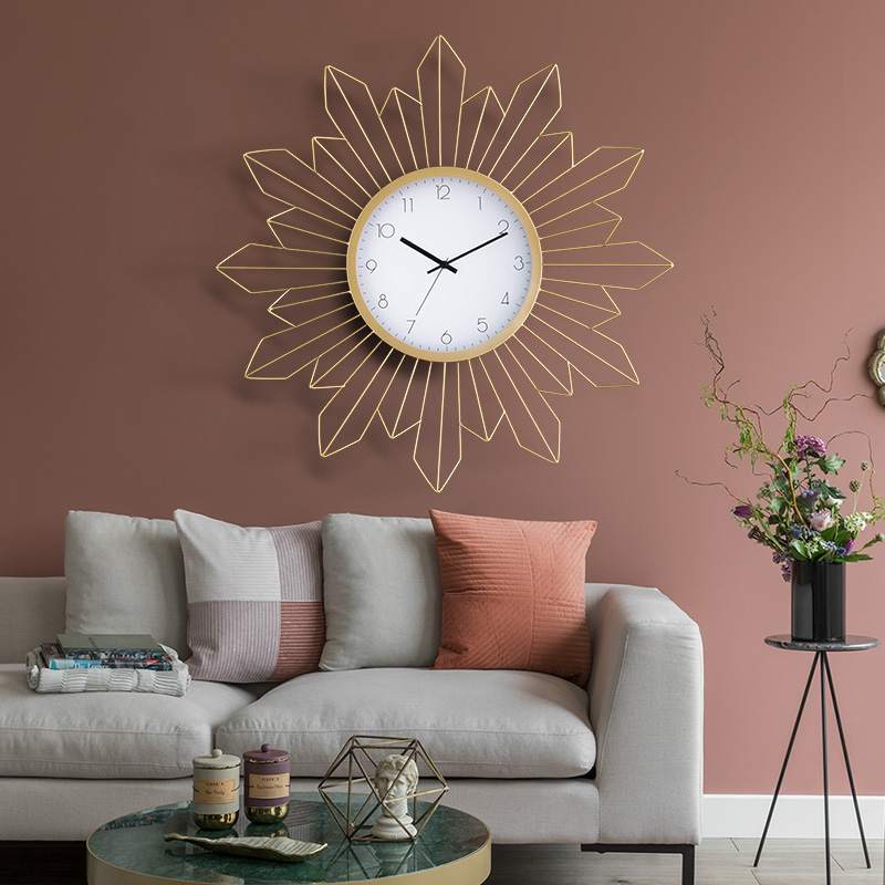 Modern Simple Clocks, Watches, Wall Clocks, Living Room, Nordic Artistic Individuality, Network Red, Creative Fashion Decoration, Atmospheric Household Clocks