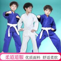 Taekwondo vêtements épaississement adulte enfants de compétition professionnelle formation hommes et femmes Jiu-Jitsu vêtements pur coton judo vêtements