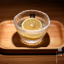 Japans original import Is Nitro Zhuang hand hammer-printed glass tasting cup Tianjin light first snow upgrade
