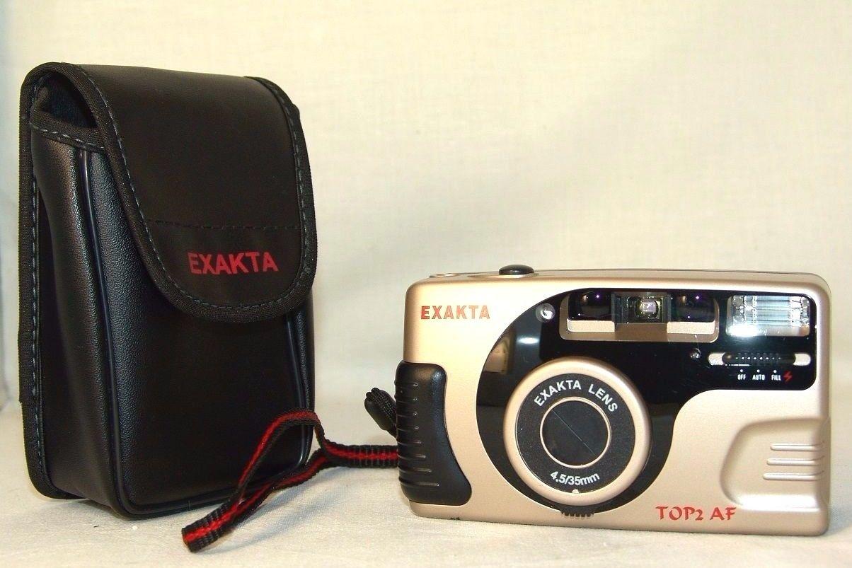 Rare negative camera EXAKTA up to 2 atrial fibrillation EXAKTA 45 35mm. Lens German Collection