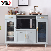 Solid wood Chinese dining cabinet modern minimalist dining room multi-function cupboard wine cabinet kitchen cabinet storage cabinet tea cabinet