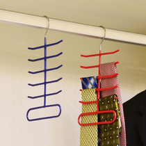The beautiful Tie rack dipping anti-slip metal tie scarf accessories storage Rack Foreign trade export high quality