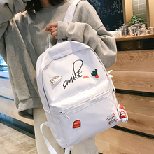 Ins schoolbag Korean version Harajuku ulzzang high school students shoulder bag chic fashion campus Backpack
