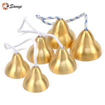 Large medium trumpet copper ringing to touch bell bell ringing small bell children olf percussion instrument