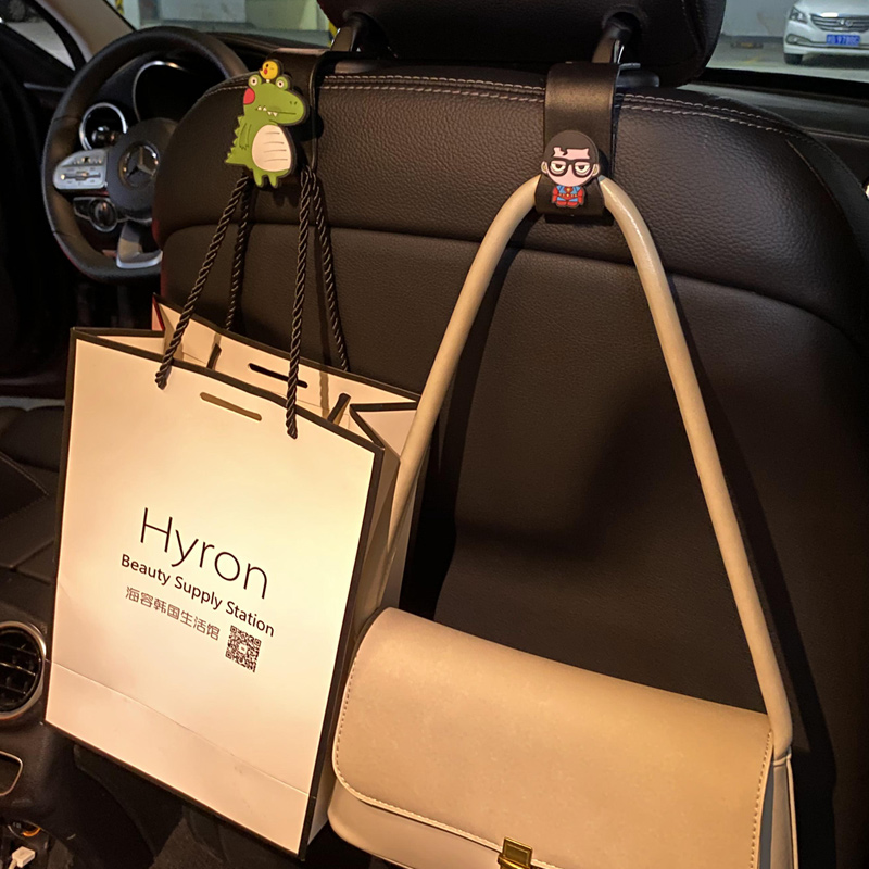 Car hook inner seat back car with cute multi-functional rear car car creative interior supplies