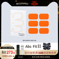 Crow Sixpad Abs Fit 2 belly gel sticker for abdominal use (1 3 6 12 Boxed)