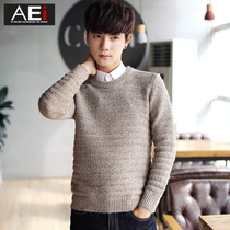 T the Korean version of slim young students in autumn sweater