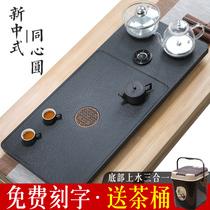 Природные wujin камень чайная тарелка полностью автоматическая один с индукционной плиты чайник бытовой каменный чайный набор