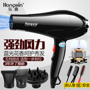 High power household electric hair dryer hair salon barber shop special dormitory hot and cold air dryer cylinder mute 2100W