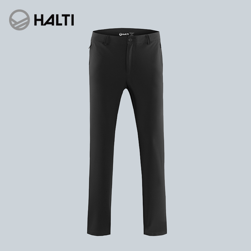 HALTI/Haldi outdoor men and women windproof stretch light casual pants soft shell pants H108-0021