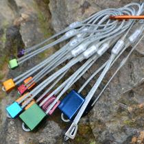 Arnas Outdoor Climbing equipment Mountaineering Rock plug climbing fixed point rock plug 12 rock seam Plug