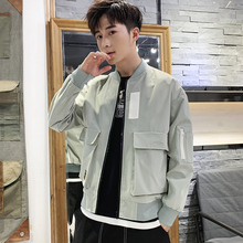 Men's jacket Korean fashion jacket spring and autumn 2019 new leisure handsome pilot baseball clothes