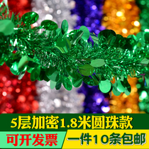 Christmas color bar decorative color wool wedding room layout wedding flower festive lengthening ribbon Christmas color bar