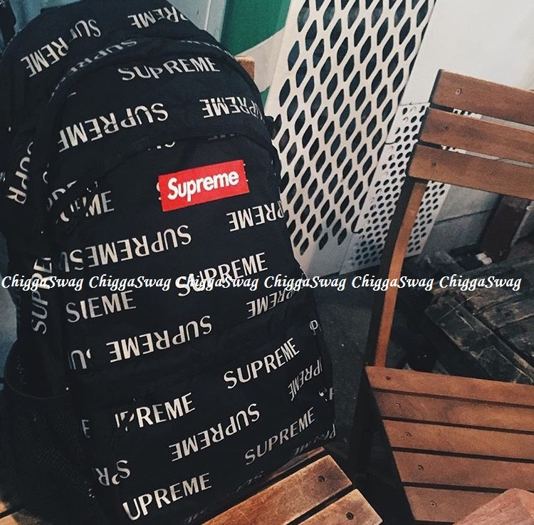 Supreme 41th 3M Reflective Repeat Shoulder Pack